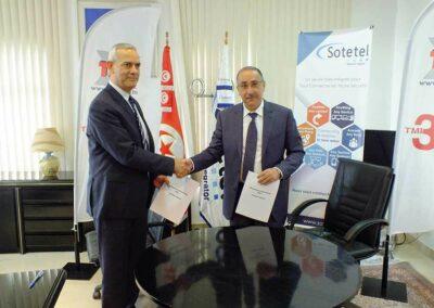 Un partenariat TMI Sotetel pour le marché B2B