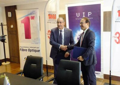 Un partenariat TMI Topnet pour le marche B2B